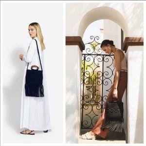 NWT Danielle Nicole Macrame Boho Chic Bag